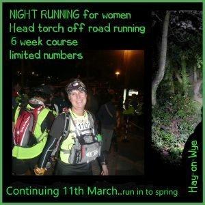 Night time Running