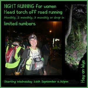 Womens Night Time Running Group
